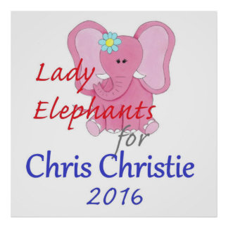 CHRIS CHRISTIE 2016 Poster
