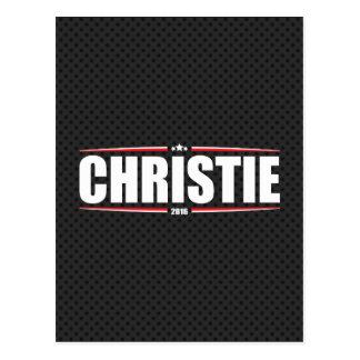 Chris Christie 2016 (Stars & Stripes - Black) Postcard