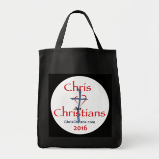 Chris CHRISTIE 2016 Tote Bag