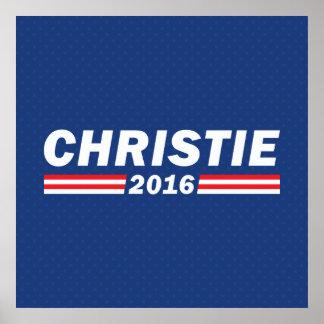 Chris Christie, Christie 2016 Póster