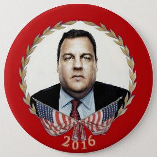 Chris Christie for President 2016 Button