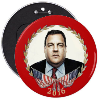 Chris Christie for President 2016 Button