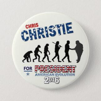 Chris Christie for President 2016 Pinback Button