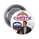 Chris Christie for President Button
