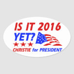 Chris Christie for President designs Sticker