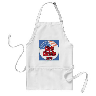 Chris Christie for president in 2015 Adult Apron