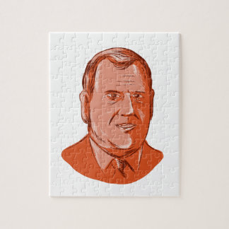 Chris Christie Governor New Jersey Jigsaw Puzzle