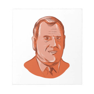Chris Christie Governor New Jersey Notepad