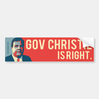 Chris Christie Hope Bumper Sticker