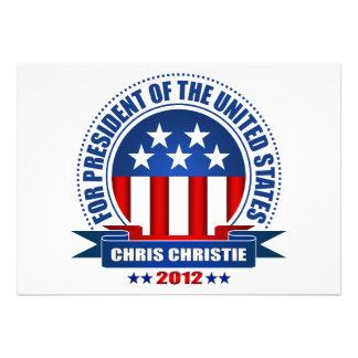 Chris Christie Announcements