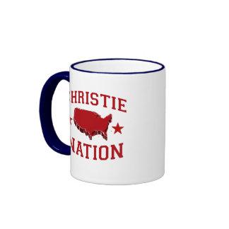CHRIS CHRISTIE NATION COFFEE MUG