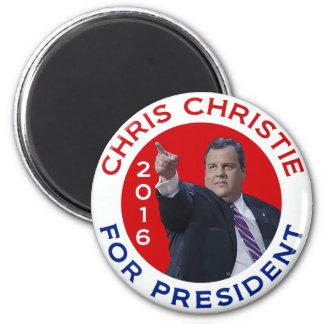 Chris Christie para el presidente 2016 Imán