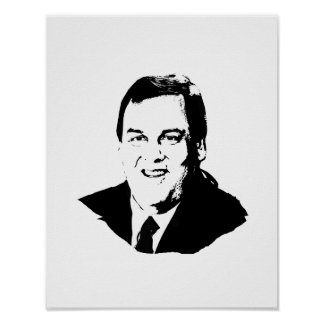 CHRIS CHRISTIE POSTERS