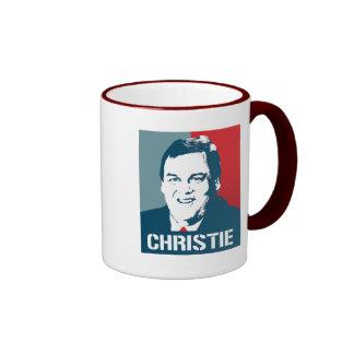 CHRIS CHRISTIE POSTER MUG