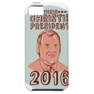Chris Christie President 2016 Oval iPhone SE/5/5s Case