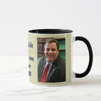 Chris Christie Today New Jersey Mug