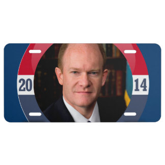 CHRIS COONS CAMPAIGN LICENSE PLATE