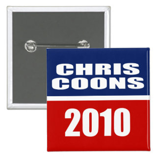 CHRIS COONS FOR SENATE BUTTON