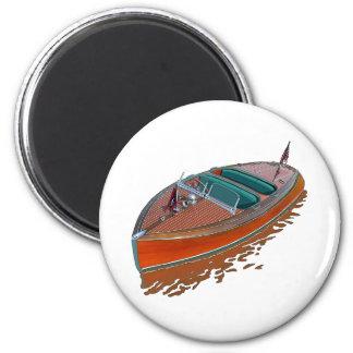 Chris-Craft Barrel Back 2 Inch Round Magnet