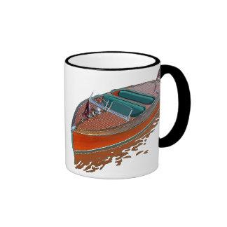 Chris-Craft Barrel Back Ringer Coffee Mug
