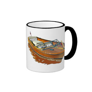 Chris Craft Continental Ringer Coffee Mug