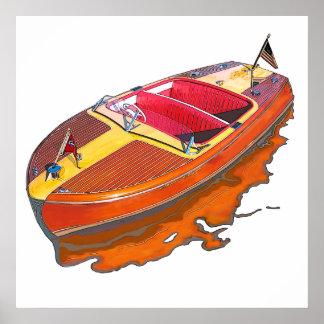 Chris Craft Riviera Print