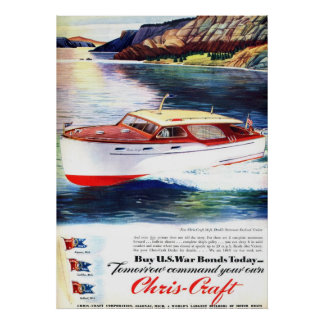 Chris-Craft War Bonds Poster