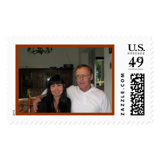 Chris & Daisy Postage Stamps