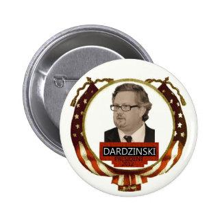 Chris Dardzinski para el presidente 2012 Pins