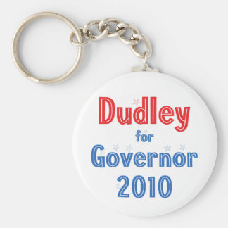 Chris Dudley for Governor 2010 Star Design Keychain
