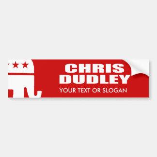 CHRIS DUDLEY FOR GOVERNOR BUMPER STICKER