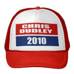 CHRIS DUDLEY FOR GOVERNOR MESH HAT
