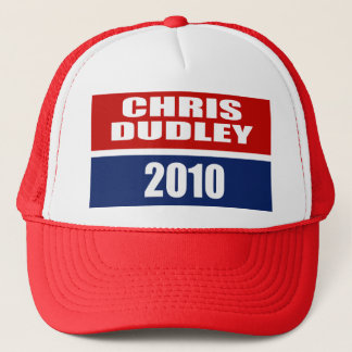 CHRIS DUDLEY FOR GOVERNOR TRUCKER HAT