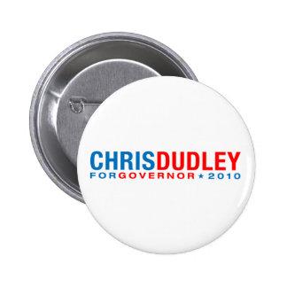 Chris Dudley Pinback Button