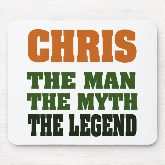 Chris - el hombre, el mito, la leyenda alfombrilla de raton
