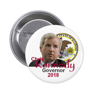 Chris KENNEDY Governor Button