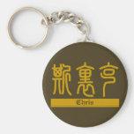 Chris - llavero conocido del kanji