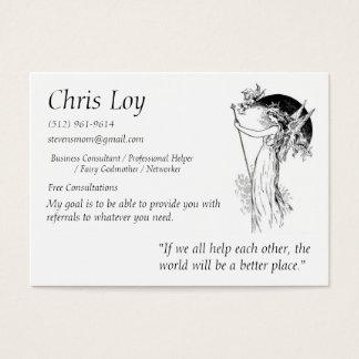 Chris Loy Fairy Godmother Business Card