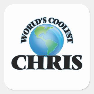 Chris más fresco del mundo colcomania cuadrada