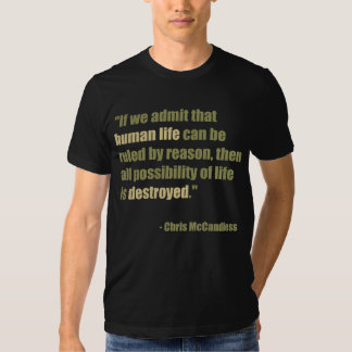 Chris McCandless Quote T-Shirt