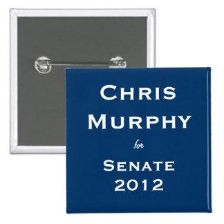 Chris Murphy para el senado Pin