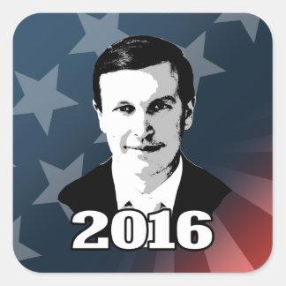 Chris Murphy Square Sticker