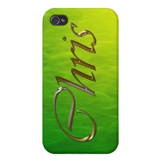 CHRIS Name Branded iPhone Cover