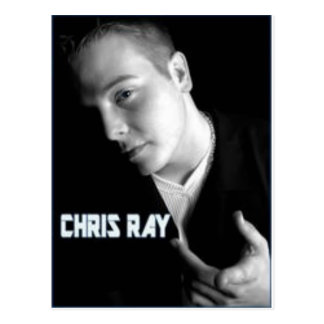 chris ray products postcard