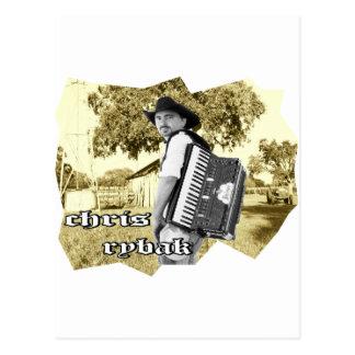 Chris Rybak - Kloesel Logo - Sephia Postcard