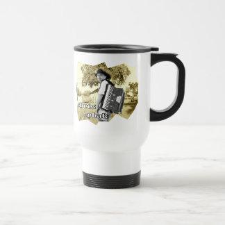 Chris Rybak - Kloesel Logo - Sephia Travel Mug