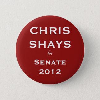 Chris Shays for Senate Button