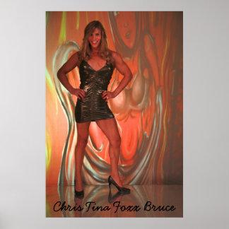 "Chris Tina Foxx Bruce ""SheDevil"" Poster"