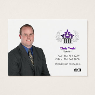 Chris Wahl Business Card