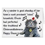 Chrismanukkahwanza Dance Card